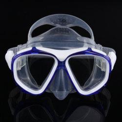 大きい目の広い眺めのスキューバスノーケリングの飛び込みマスク