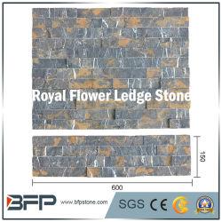 Pietra decorativa della coltura del marmo del comitato di parete, pietra di marmo beige della sporgenza