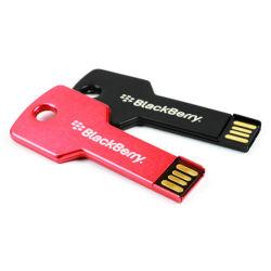 OEM Custom métal en forme de clé USB Pen Drive 8 Go de 16Go et 32 Go de mémoire Flash de l'appui 2.0 Principales stick USB