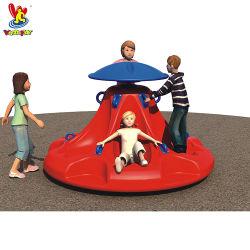 Детский открытый детская площадка компоненты пластиковой вращающейся лазы комплектуются оборудованием для парковки
