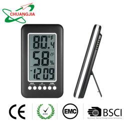 ホーム装飾のための温度計の湿度計が付いている多機能LCDデジタルの目覚し時計