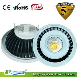Het LEIDENE van de Lamp van het Spoor van de Vlek van de Leverancier van China GU10 12W Licht van AR111