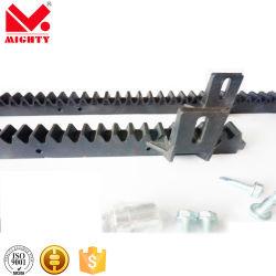 Fabricante de acero negro poderoso Cremallera M1-M8 con el tornillo de fijación