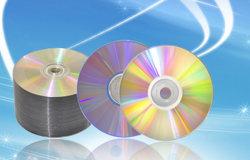 Чистые диски DVD-R блеск серебра не печать