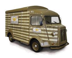 Approuvé ce nouveau type d'aliments Taco Mobile camions/kiosque alimentaire/wagon d'aliments pour la vente
