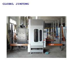 중국 4개의 총기를 사용하는 자동 PLC 유리 대리석 개구리 기계 제조업체(JFP1600)