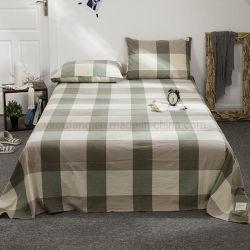 Luxuriöse Blatt-gesetzte Form-Art-Baumwolle aufgetragenes Gewebe für doppeltes Bett