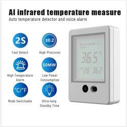 Bluetooth vocaux intelligents ia Thermomètre infrarouge numérique infrarouge sans contact pistolet à température Kids infrarouge Thermomètre frontal