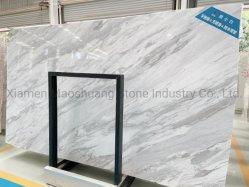 Natürlicher Stein preiswerter Volakas weißer Poliermarmor für Innenraum-Innenfußboden/Wand-Dekoration/Hintergrund