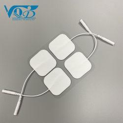40*40 квадратных сертифицированных малых медицинского класса клейкий гель адгезивных электродов