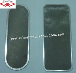 Corte do Filtro com alta densidade