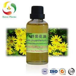 Pure et naturelle de l'huile de fleurs de chrysanthème sauvage