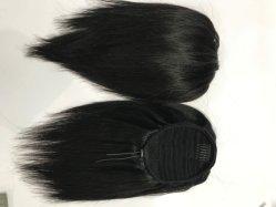 Бразильский волос Оберните удлинитель Ponytail Humain Ponytails волос волосы с кулиской