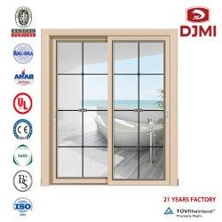 Alumínio de liga de alumínio Dobra Bi-Fold Deslizando Villa Swing Balcony House em fibra de vidro interior de vidro Vidros Duplos Cozinha Equipada de fábrica com baixa vida Francesa e