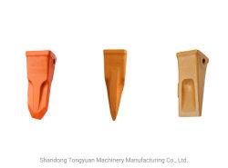 Dente della benna dello scalpello della roccia di serie di RC KOMATSU PC200, PC200RC S, denti della benna dell'escavatore