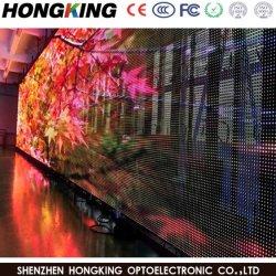 Auto della memoria di monili che si leva in piedi l'alta finestra trasparente del video della visualizzazione di luminosità P5.2 LED