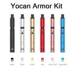 Ypode Armor Ultimate Wax Oil Vapizer e cigarros Pen Vape Óleo concentrado CBD Vaporizador 380 mAh Pré-aquecimento Tensão da bateria ajustável Ecig Vape