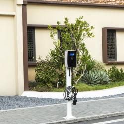 16 أمبير فردي /3 طور 11 كيلو واط EV تثبيت شاحن منزلي كهربائي جهاز شحن السيارة شاحن السيارة الكهربائية من النوع 2 Evse