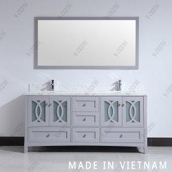 [هيغقوليتي] طبيعيّ حجارة أعلى حمام خزانة تفاهة مع مرآة
