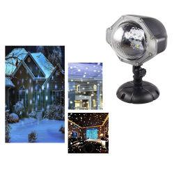 Beleuchtet die populäre Schneeflocke 2020, die LED projektiert, Schneefall-Landschaftslicht-wasserdichter Scheinwerfer-dekoratives Licht für Feiertags-Weihnachten