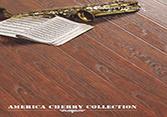 América Cherry HDF piso laminado E AC31 à prova de água