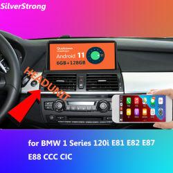 سلسلة 1 لنظام التشغيل Android 11 للسيارة الوسائط المتعددة للسيارة GPS طراز GPS طراز 6 جيجا بت و128 جم 10.25 بوصة دعم نظام الراديو CIC CIC 120I E81 E82 E87 E88 CCC معالج الإشارات الرقمية 8 Core SDSP ستريو SWC iDrive