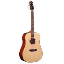 Haut de page Étudiants solides débutant 39 pouces en acajou de la guitare acoustique