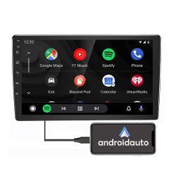 شاشة سعوية تعمل باللمس Android Auto BT WiFi CarPlay 2 DIN مشغل ملاحة Autoradio Navigation MP5 لراديو السيارة مقاس 10 بوصات