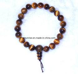 De semi Juwelen van de Armband van de Macht van Boedha van de Edelsteen Kristal Geparelde