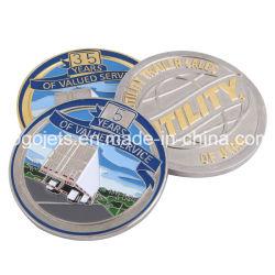 習慣は記念品の金属に記念のギフトの挑戦硬貨をする