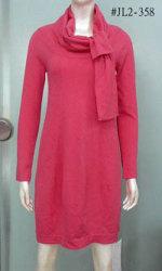 Knot-Neck vestido (JL2-358)