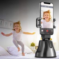 سعر المصنع حامل الهاتف 360 دوران تلقائي تتبع كائن الوجه حامل كاميرا عصا الصورة الذاتية