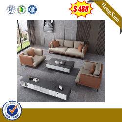 Hot vende moderni divani in pelle 1+1+3 per ufficio Furntiure