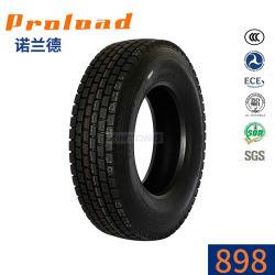 Un alto rendimiento 11r22.5 12r22.5 315/80R22.5 Radial grandes neumáticos de camiones y autobuses