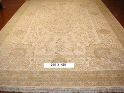 Des tapis faits main personnalisé de la Chine tapis touffetés à la main de la laine pour salle de séjour (HM-S/W-H-200711)