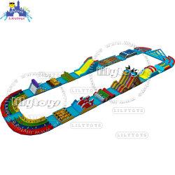 Commerciale Inflatable ostacoli slide gonfiabili Bouncy Castle Commercial Slide