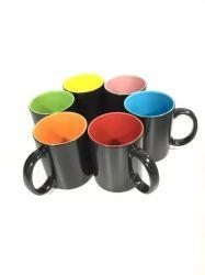 Ensemble de la vente de la sublimation Matte 11oz Mug magique de changement de couleur