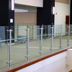 Corrimão de vidro com Design Inox Baluster para varanda