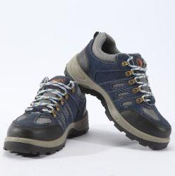 جلد من الجلد ذو السعر الجيد من حديد غير القابل للتكتل أحذية السلامة يُستخدم مع مقاومة الانزلاق والحقب