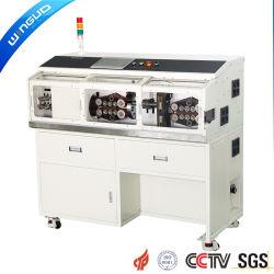 Contrôle automatique d'ordinateurs gros carré de la machine pour le dénudage de fil coaxial (WG-9850)