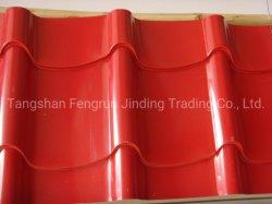La norma ASTM Metal Material de construcción del techo de lámina de acero galvanizado /Hoja de techo