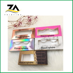 Hot Sale cosmétique des boîtes d'emballage du papier Impression de logo pour le rouge à lèvres