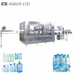 Het volledige Automatische 100ml-2L Sprankelende Zachte het Drinken Vloeibare Water dat Plastic Glas bottelt kan Het Vullen van het Flessenspoelen het Afdekken de Machine van de Machines van de Lijn van de Installatie