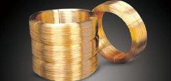 Ring-runder und Messingflachdraht