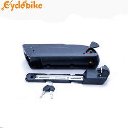 De Batterij van het Lithium van Downtube 36V10ah voor Elektrische Fiets en Fiets Ebike