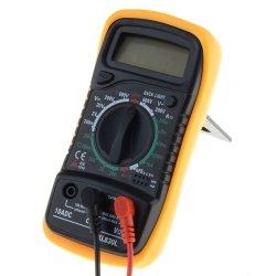 Les multimètres numériques de poche compte Multimètre numérique LCD Testeur Mesure XL 830L