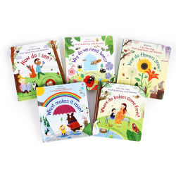 Verhaal van de Douane van KP het In het groot voor de Engelse Baby van Jonge geitjes las hardop het Lezen van het Boek van de Raad van de Kinderen van de Non-fictie van de Poëzie
