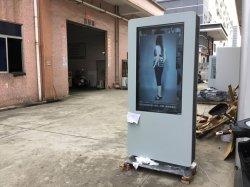 L'aluminium kiosque à journaux Booth pour publicité de plein air (TPK-002)