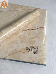 대리석 디자인 Windows 문턱 프레임을%s 장식적인 PVC 필름