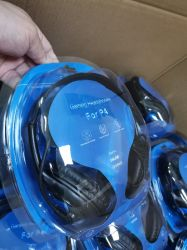 Bester Computer verdrahteter Spiel-Kopfhörer mit Licht Mikrofonmic-LED für PC 3.5mm